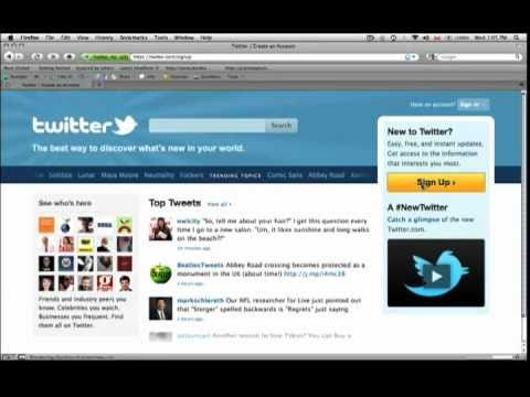 Understanding Twitter part 1 - How To Setup A Twitter Accoun...