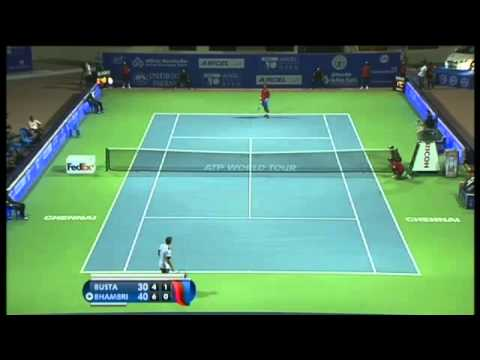 ACO 2014 - Day2: Match1 Highlights -  P CARRENO BUSTA vs Y BHAMBRI