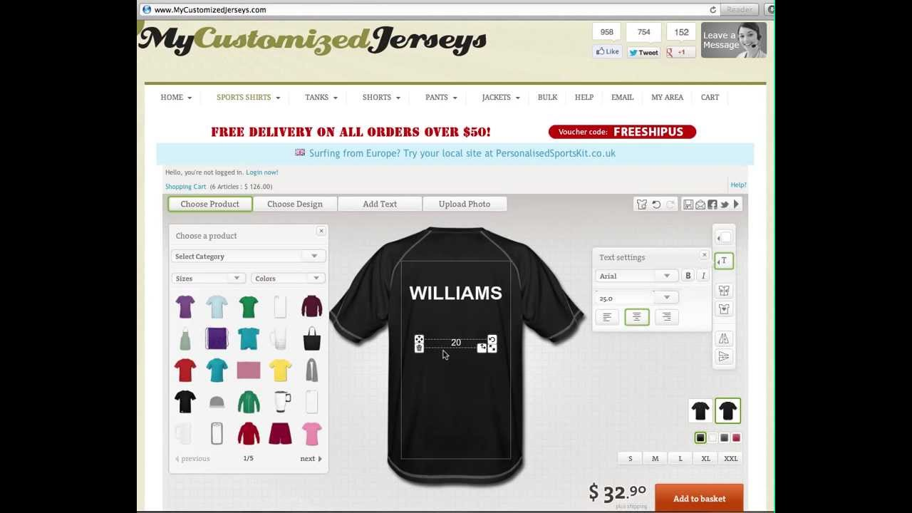 Design Your Own Paintball Jersey Online