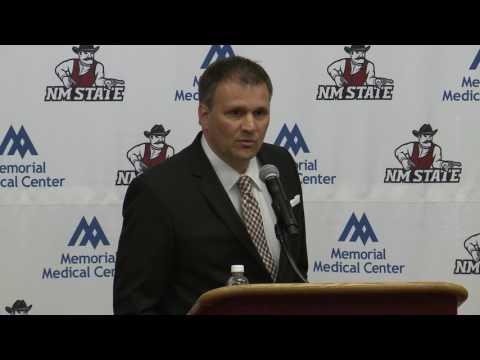 NM State Men's Basketball - Chris Jans Announcement