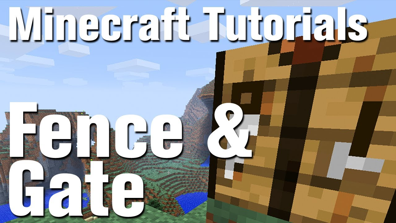 How To Build A Fence Gates In Minecraft