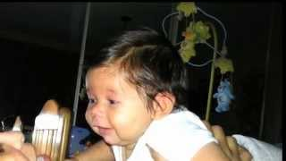 [Only 3 months old & already talking to mum] Video