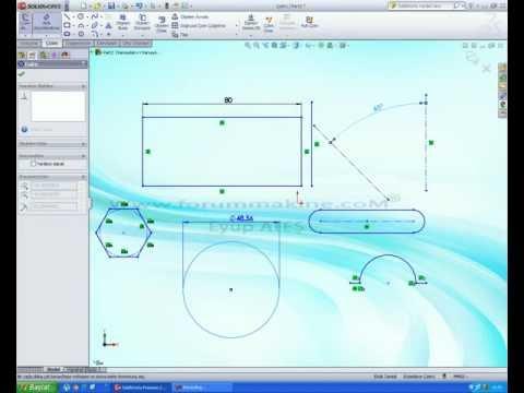 Solidworks 2012 akıllı ölçülendirme komutu 008