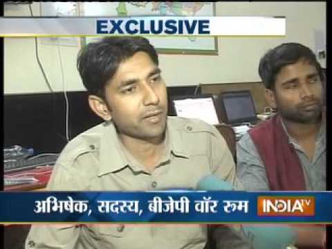 India TV visits Narendra Modi's election war-room