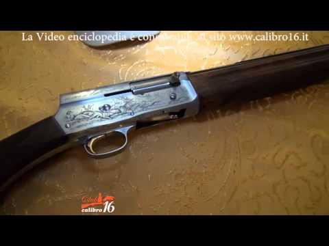 VIDEO ENCICLOPEDIA DEL CALIBRO 16 - SEMIAUTOMATICO BROWNING AUTO 5 CELEBRATIVO
