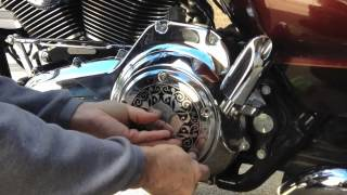 Harley Davidson Derby Cover Capper Installation Video By D