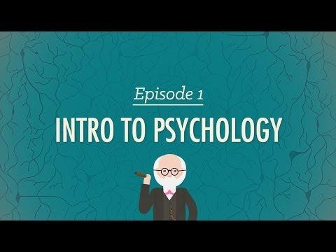 Intro to Psychology - Crash Course Psychology #1 - YouTube