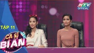 HTV CA SĨ BÍ ẨN|MC Quyền Linh hóa thân ca sĩ đánh lừa Chí Tài| MÙA 2|CSBA #11 FULL|7/5/2018