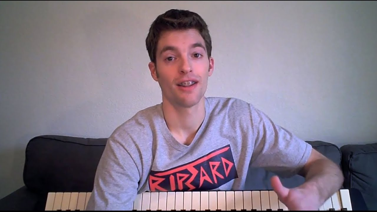 Piano Lesson: Learn THE 4 Chords - YouTube