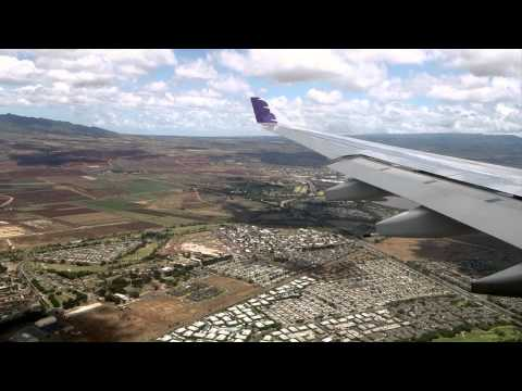 Hawaiian Airlines Flight 25 from Portland to Honolulu