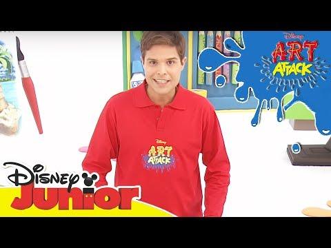 Art Attack Bastelclip #15 - Muskelmann | Disney Junior