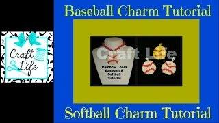 Craft Life ~ Rainbow Loom Baseball Softball Tennis Ball
