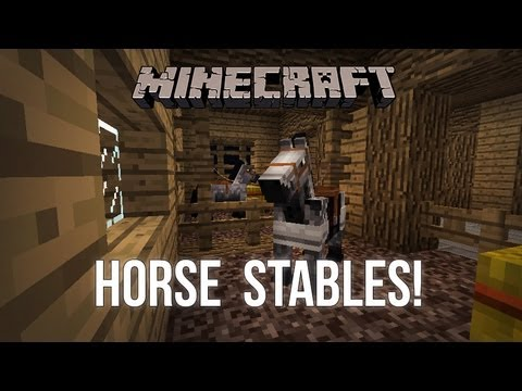 how to build a stable in minecraft