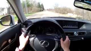 2014 Lexus GS 350 WR TV POV Test Drive