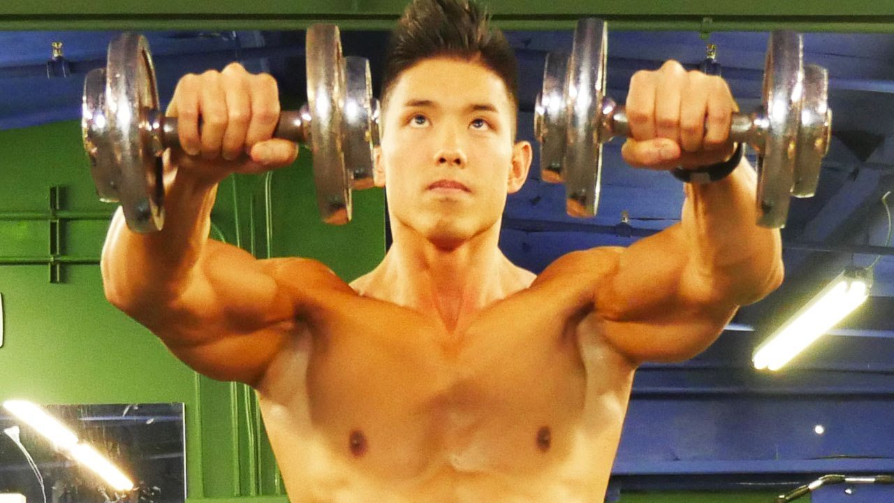 how to train shoulders at home without weights