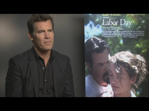 Josh Brolin says Kate Winslet is 'brilliant' in new film Labor Day