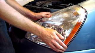 Kia Sedona/Carnival Headlight Bulb Replacement videos