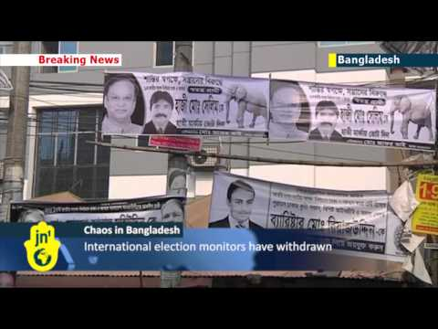 Violence grips Bangladesh amid boycotted election