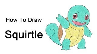 How To Draw Squirtle (Pokemon)