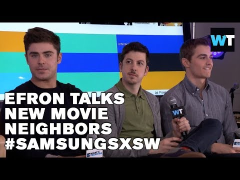 Zac Efron, Christopher Mintz-Plasse & Dave Franco on Neighbors | #SamsungSXSW