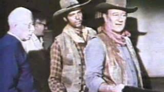 "JOHN WAYNE & HOWARD HAWKS ON SET OF ""RIO LOBO"" THE"
