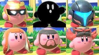 Super Smash Bros Ultimate - All Kirby Hats and Powers