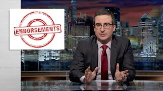 John Oliver's Endorsements