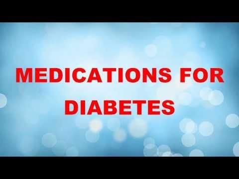 Medicine|Medications For Type 1|Type 2 Diabetes