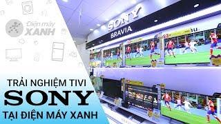 Phỏng vấn : Khách hàng trải nghiệm tivi Sony tại Điện máy Xanh