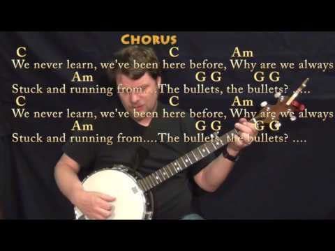 Sign Of The Times (Harry Styles) Banjo Cover Lesson in C with Chords/Lyrics