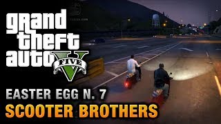 GTA 5 Easter Egg #7 Scooter Brothers!