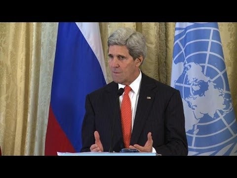 US, Russia urge 'local ceasefires' before Syria talks
