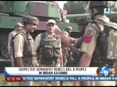 One Global Village: Suspected Separatist rebels kill 8 people in Indian Kashmir - 9/26/2013