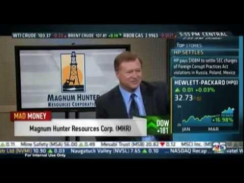 Magnum Hunter Resources CEO Gary Evans interviewed on CNBC's