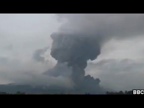 Indonesia Volcano Sends Massive Ash Cloud A Mile Up