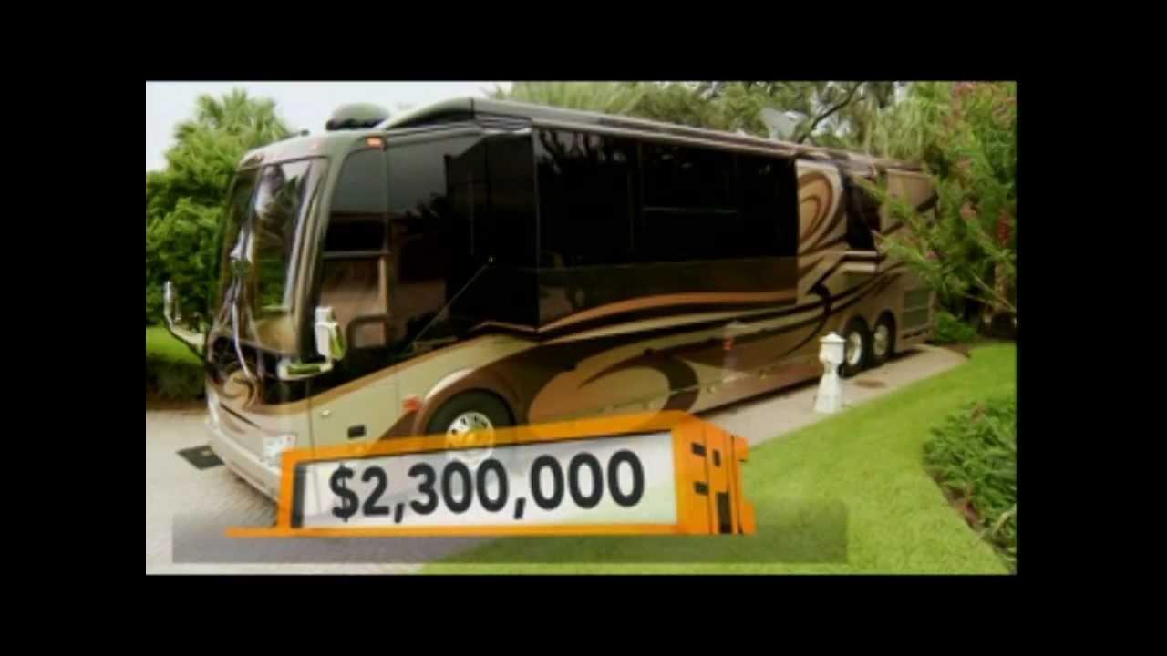 for Million dollar motor homes
