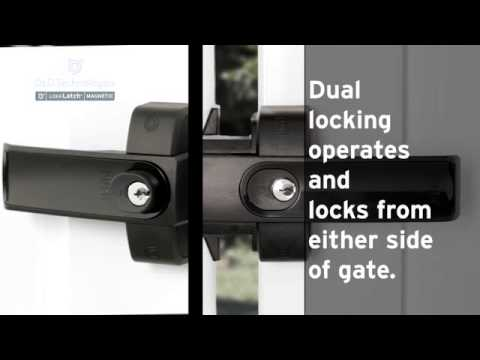 LokkLatch Magnetic - It's a lock. It's a latch. It's all you need.