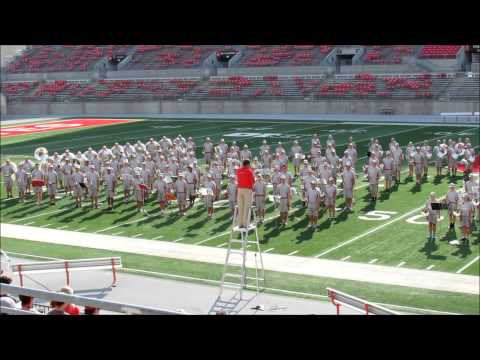 OSUMB Band Family Picnic and Concert at Ohio Stadium 8 17 2013