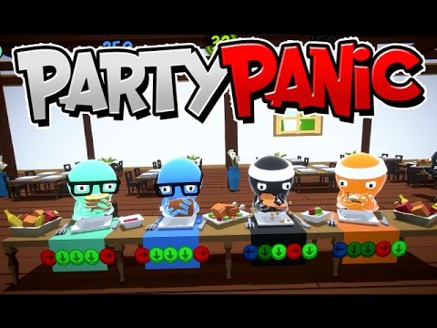 Party Panic - Buffet Party - Part 22 [Father Vs. Son Vs. All]