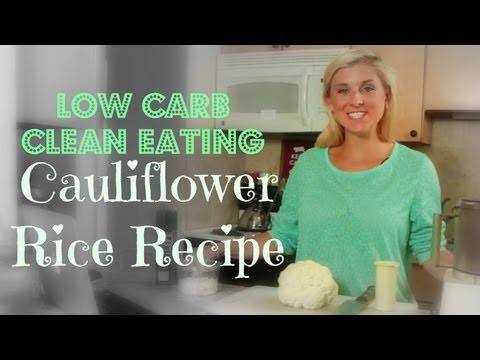 Cauliflower Rice Recipe | Sarah Fit