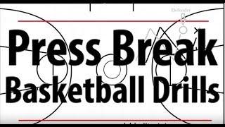 Basketball Press Break Secrets And Drills