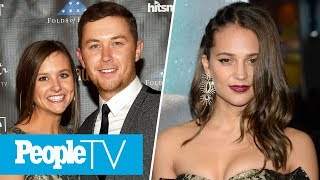 Alicia Vikander On Swimming With Sharks, Scotty McCreery Reveals Plans For Wedding Day | PeopleTV