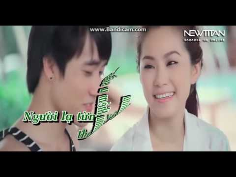 karaoke  ]nguoi la tung yeu ]huong bui moi cs nam song ca