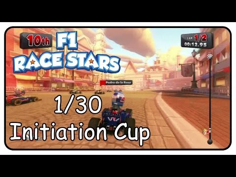 F1 Race Stars Walkthrough Part 1 Initiation Cup (Gold Cup)