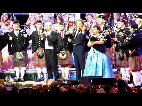 SCOTLAND THE BRAVE/AMAZING GRACE [HD] - ANDRE RIEU - LIVE IN MANCHESTER 2012