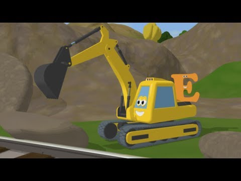 Learn alphabet with shawn the train