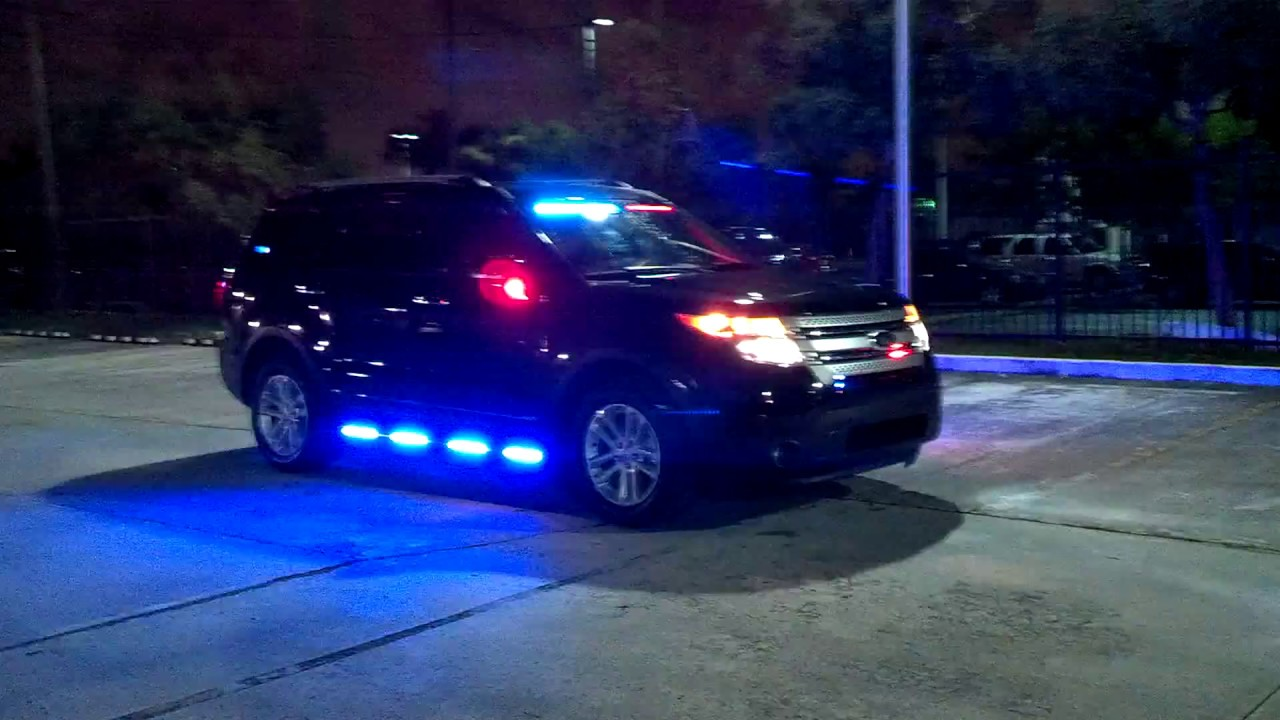 Medley Police Dept Ford Explorer Interceptor SUV HG2 Lighting Package YouTube