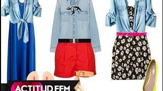 Tendencias Primavera/Verano 2014 // Moda En Mezclilla