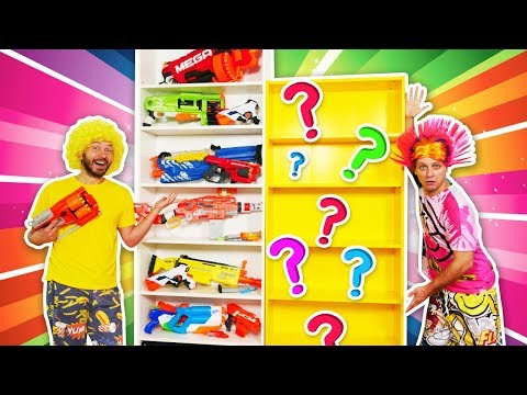 Where is my Nerf Blaster? Funny Videos with Toy Guns - Nerf Gun Games with Nerf Rival