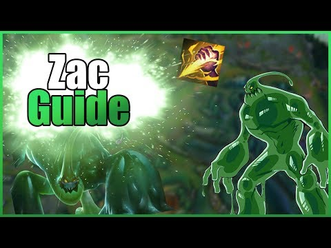 League of Legends - Reworked Zac Jungle Guide [Patch 7.10/German/Dia]